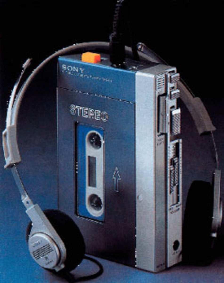 THE ICONIC SONY WALKMAN is the latest techno dinosaur, as Sony has announced it has halted production of the cassette-tape player Japan. Photo courtesy SonyInsider.com