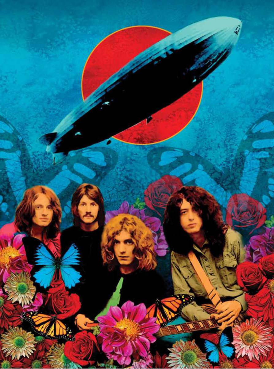 Ioannis art of Led Zeppelin