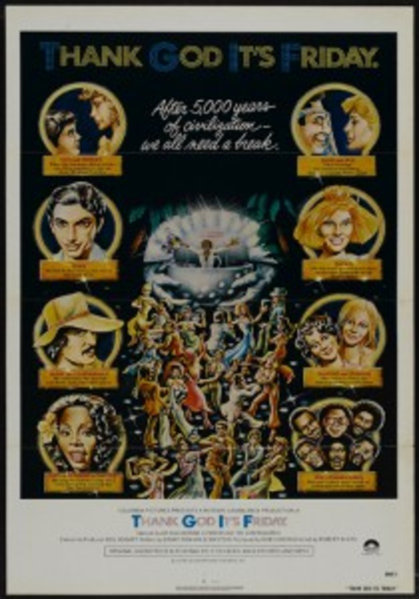 Thank God It's Friday Heritage Auctions movie poster