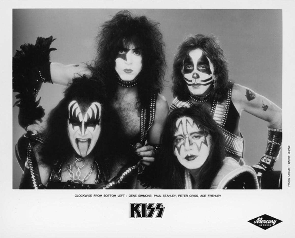 KISS Mercury 1998 publicity photo