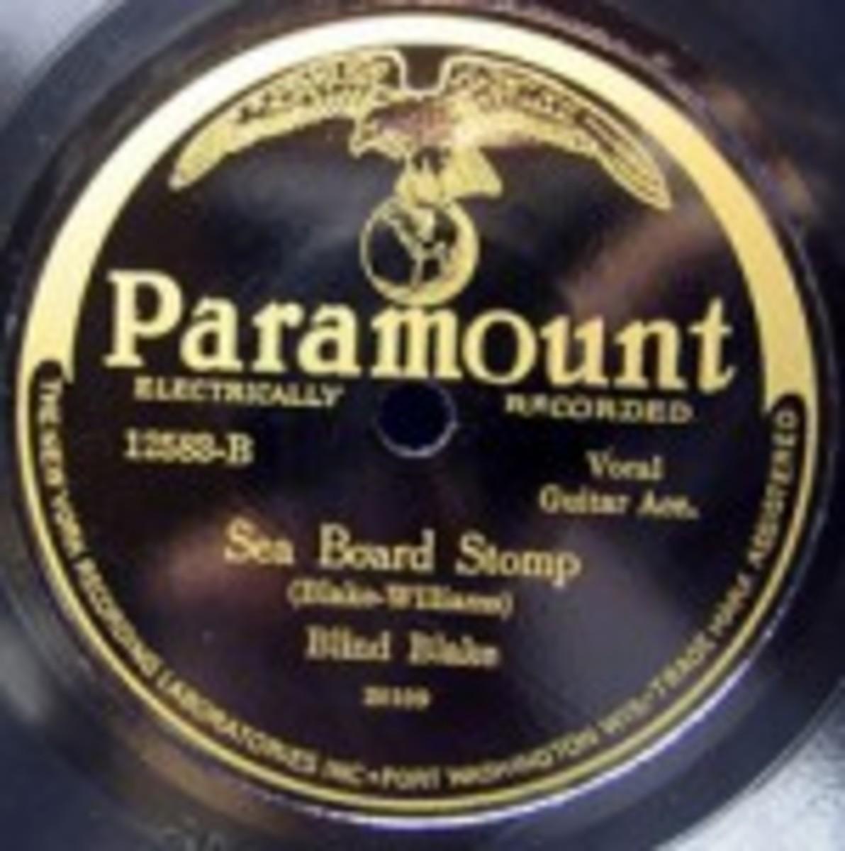 Blind Blake Paramount 12583