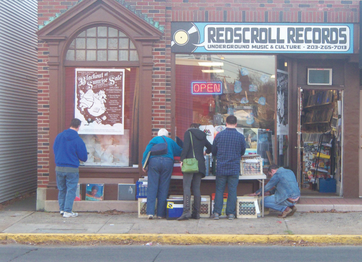 Red Scroll Records in Wallingford, Conn.