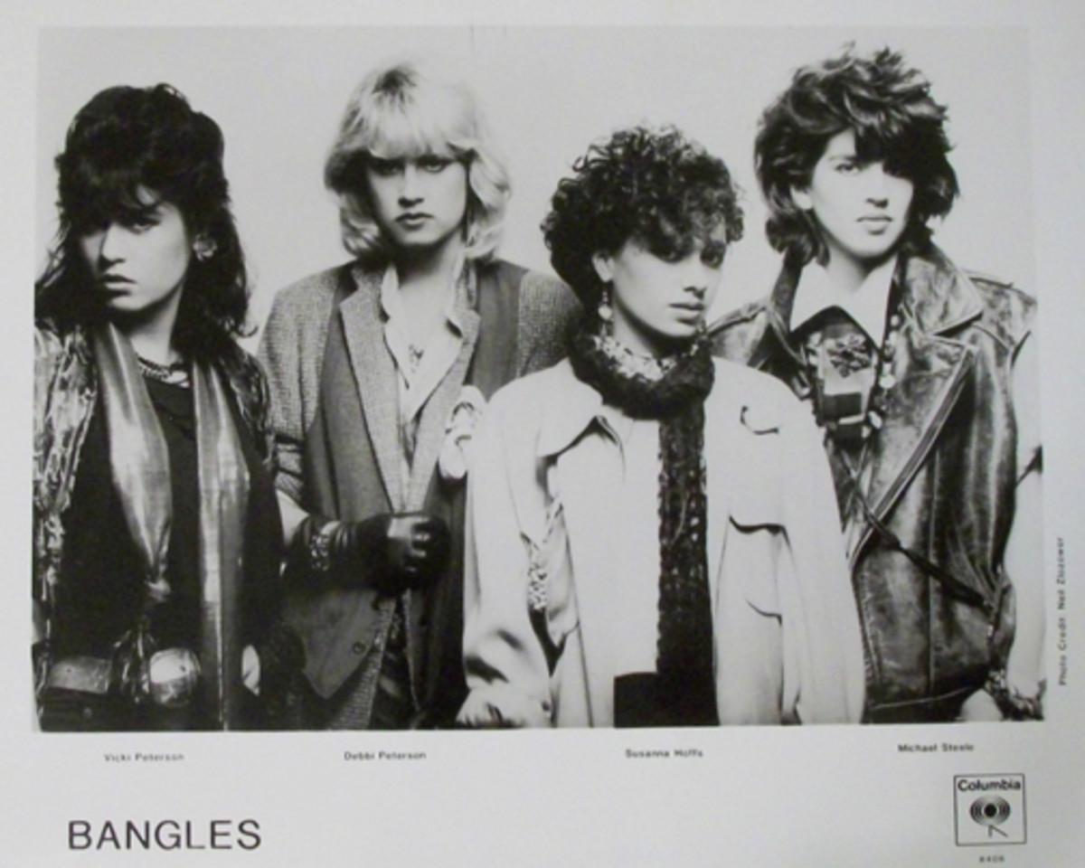 The Bangles Columbia Records publicity photo