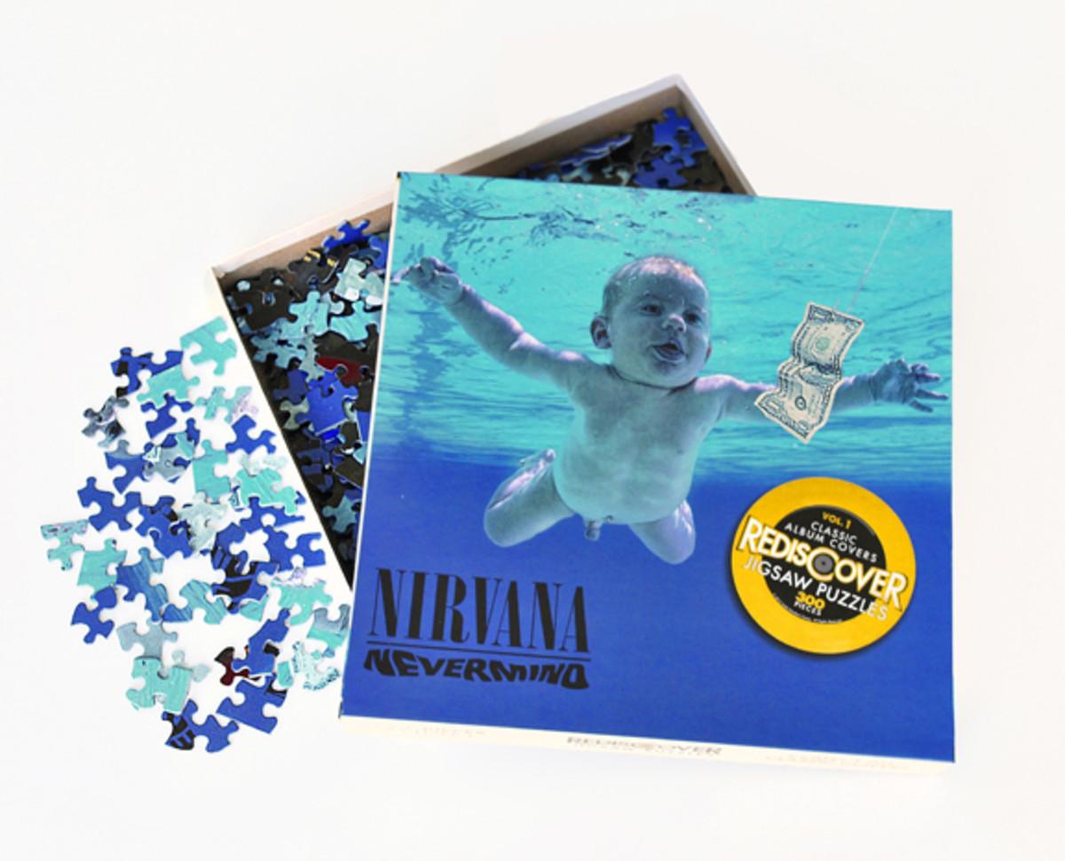 Nirvana Nevermind jigsaw puzzle