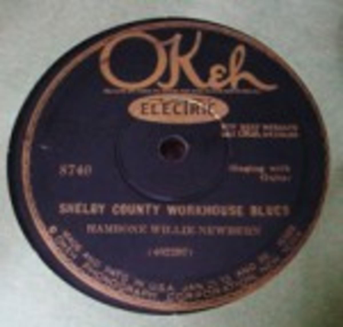 Hambone Willie Newbern Okeh 78s