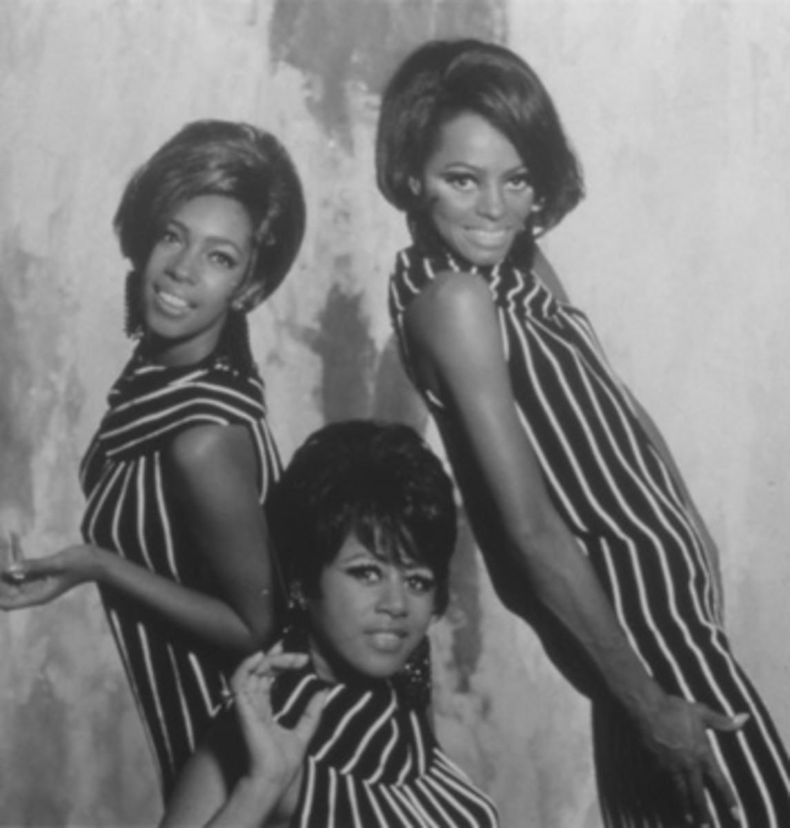 FOREVER ELEGANT, The Supremes were known being fashion-forward artists. The Story of The Supremes from The Mary Wilson Gown Collection is an exhibit that shares the group's history via its evolution in fashion and music. Publicity photo.