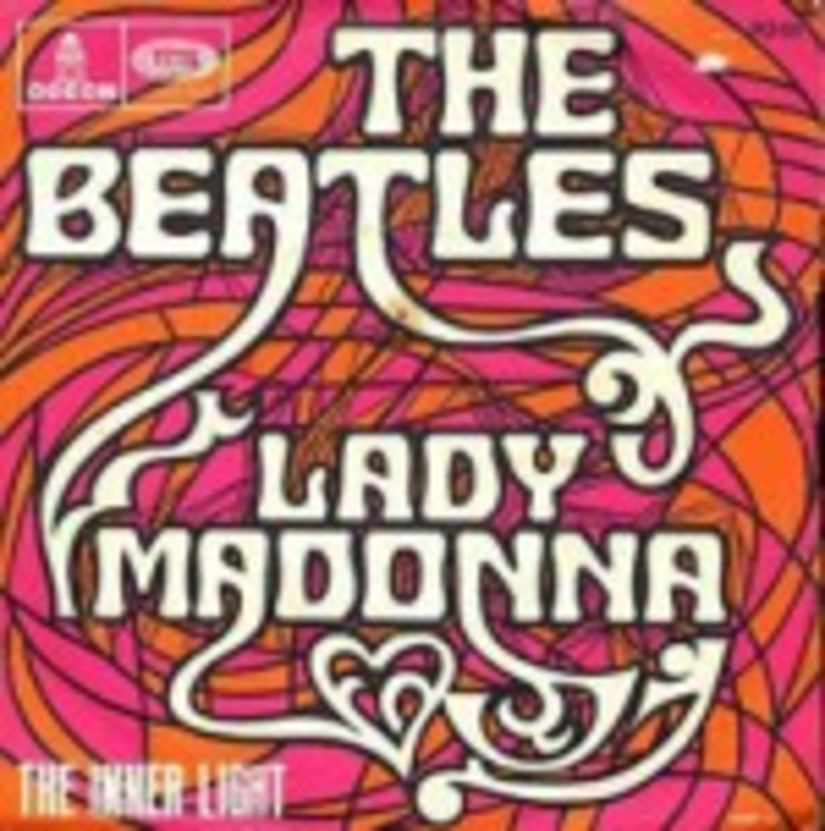 Beatles Lady Madonna FO 111 Odeon