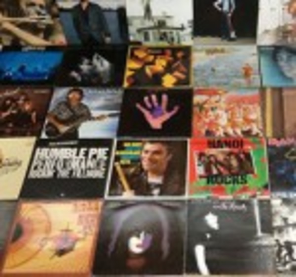 1,900 LPs and 100 12-inch singles
