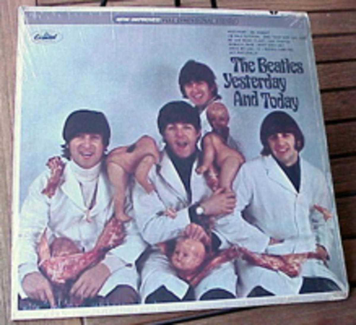 Beatles Butcher Cover Yesterday and Today Capitol 2553