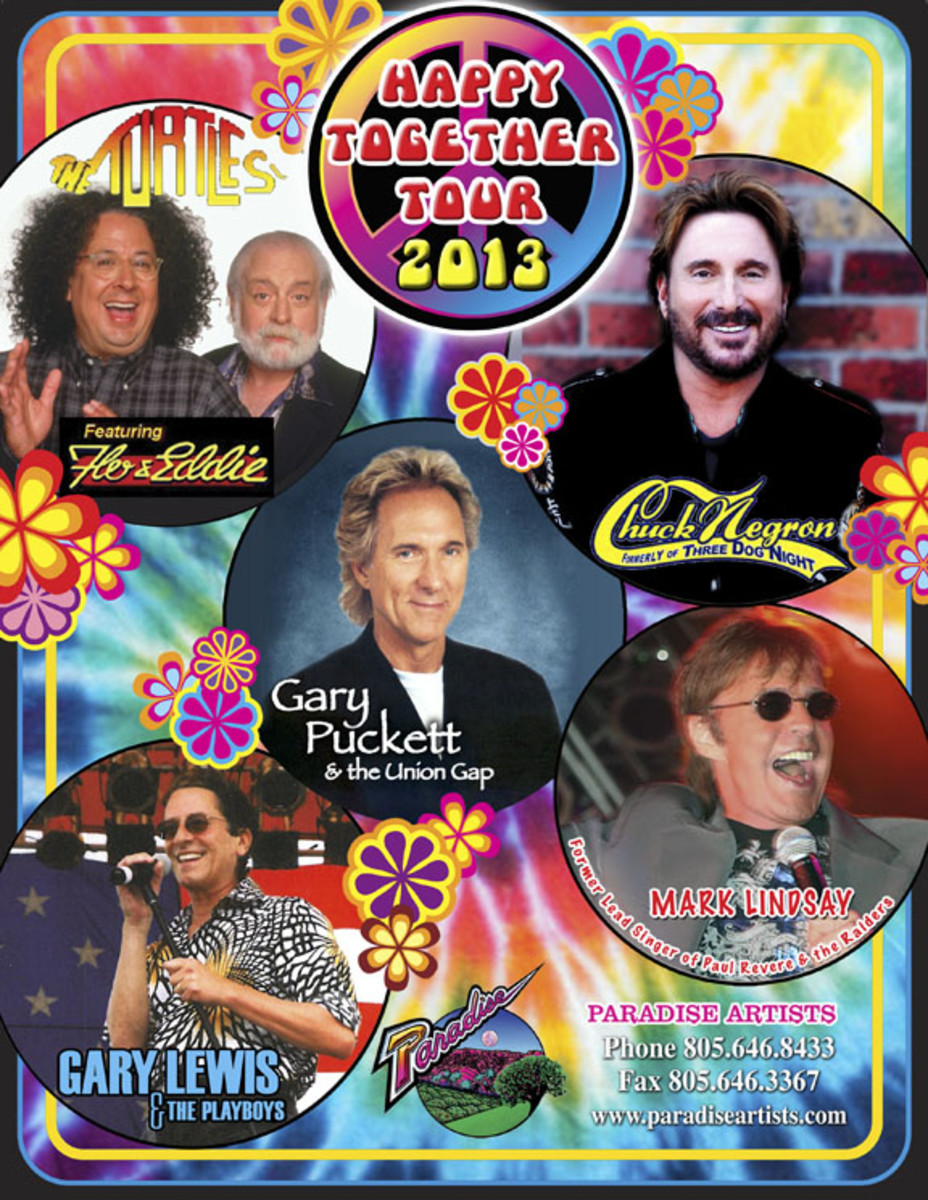 Happy Together 2013 Tour Poster