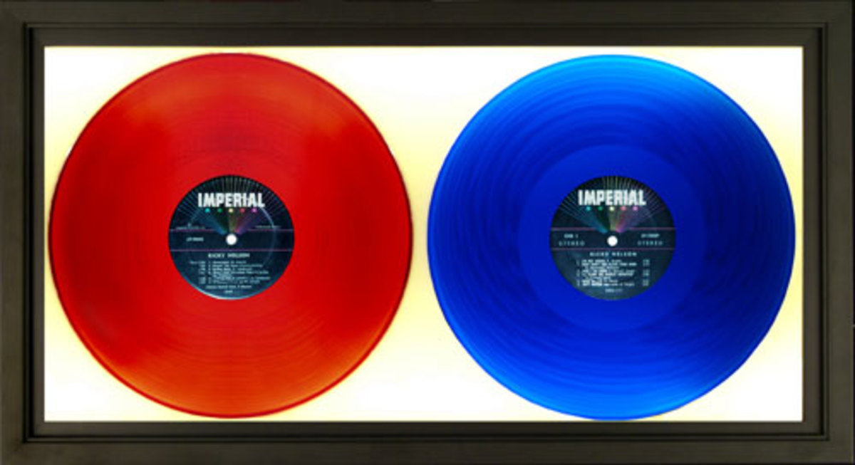 Ricky Nelson colored vinyl on Imperial Records