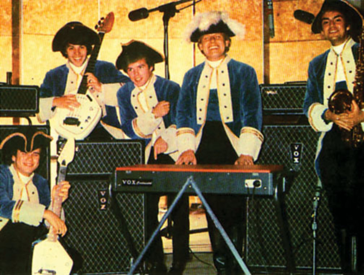 Paul Revere and The Raiders photo courtesy Phil Fang Volk