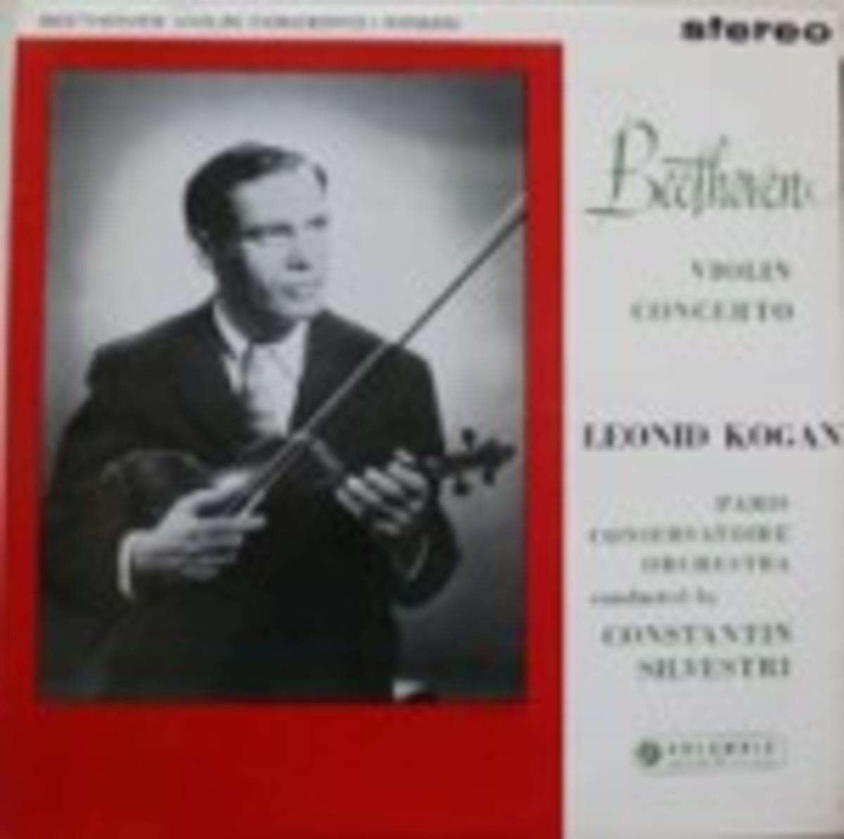 Leonid Kogen Beethoven Violine Concerto SAX 2386
