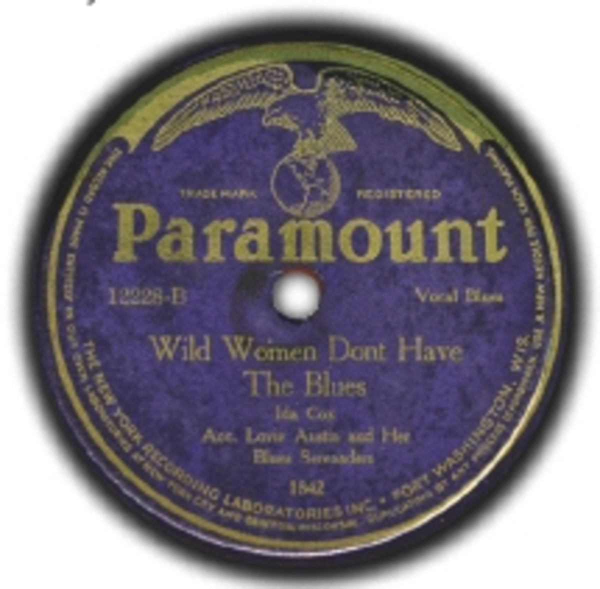 Ida Cox Wild Women Don't Have The Blues Paramount