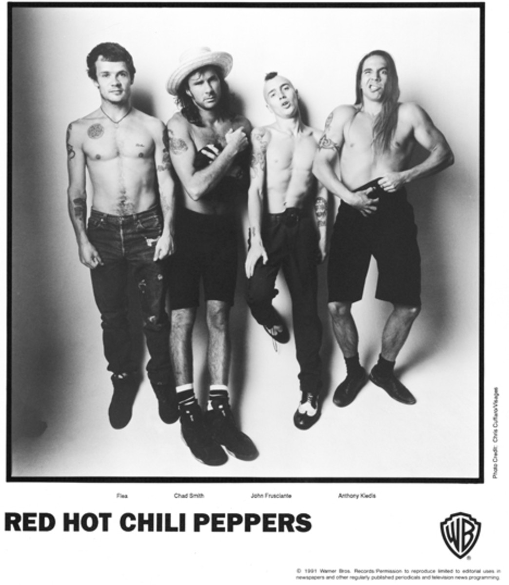 Red Hot Chili Peppers 1991