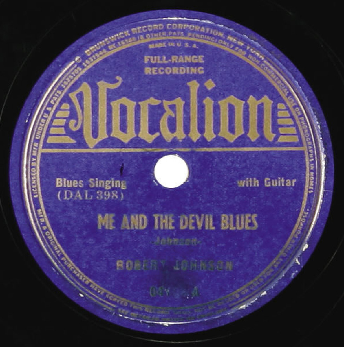 Me And The Devil Blues