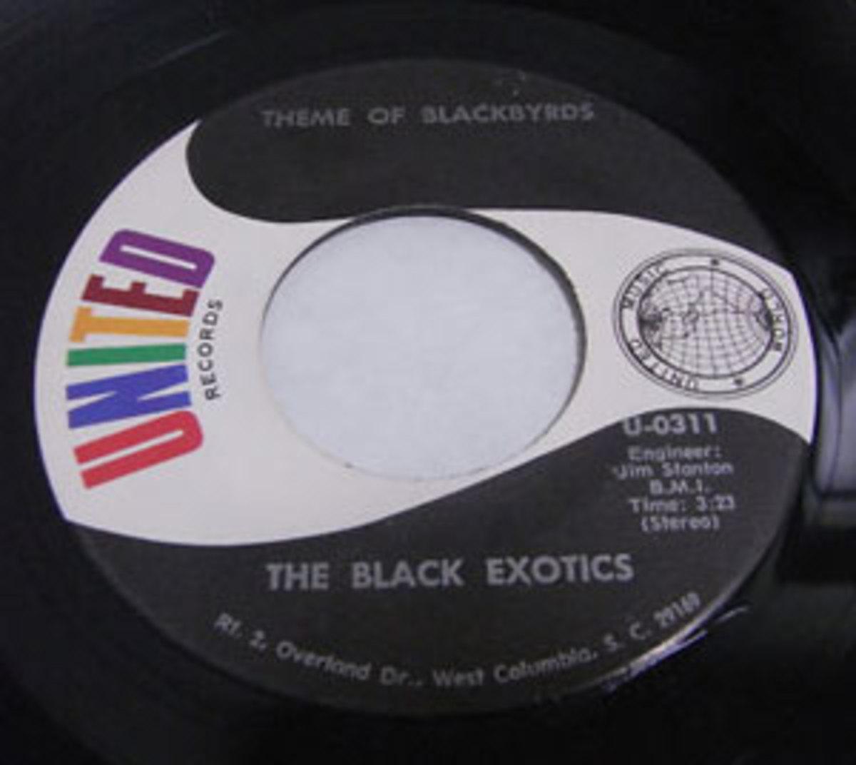 5. The Black Exotics 45.
