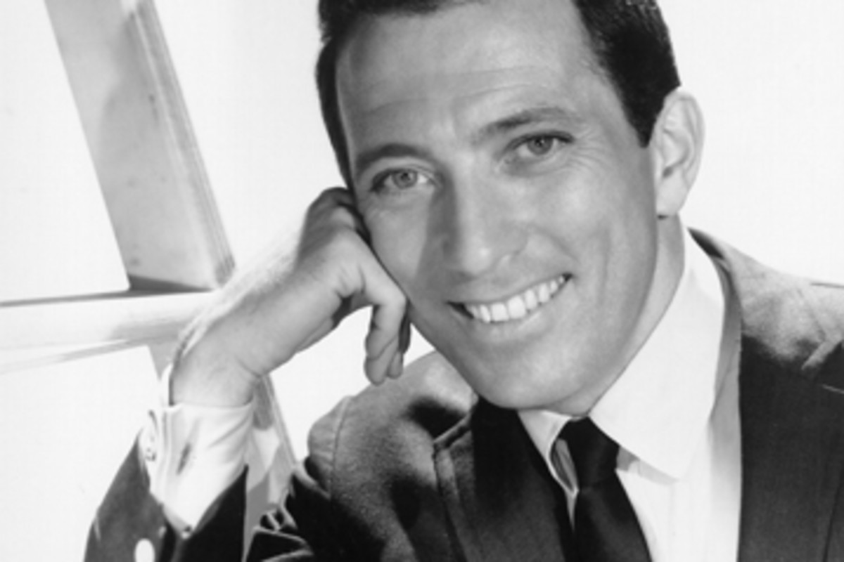 Andy Williams, circa 1962. Publicity photo.