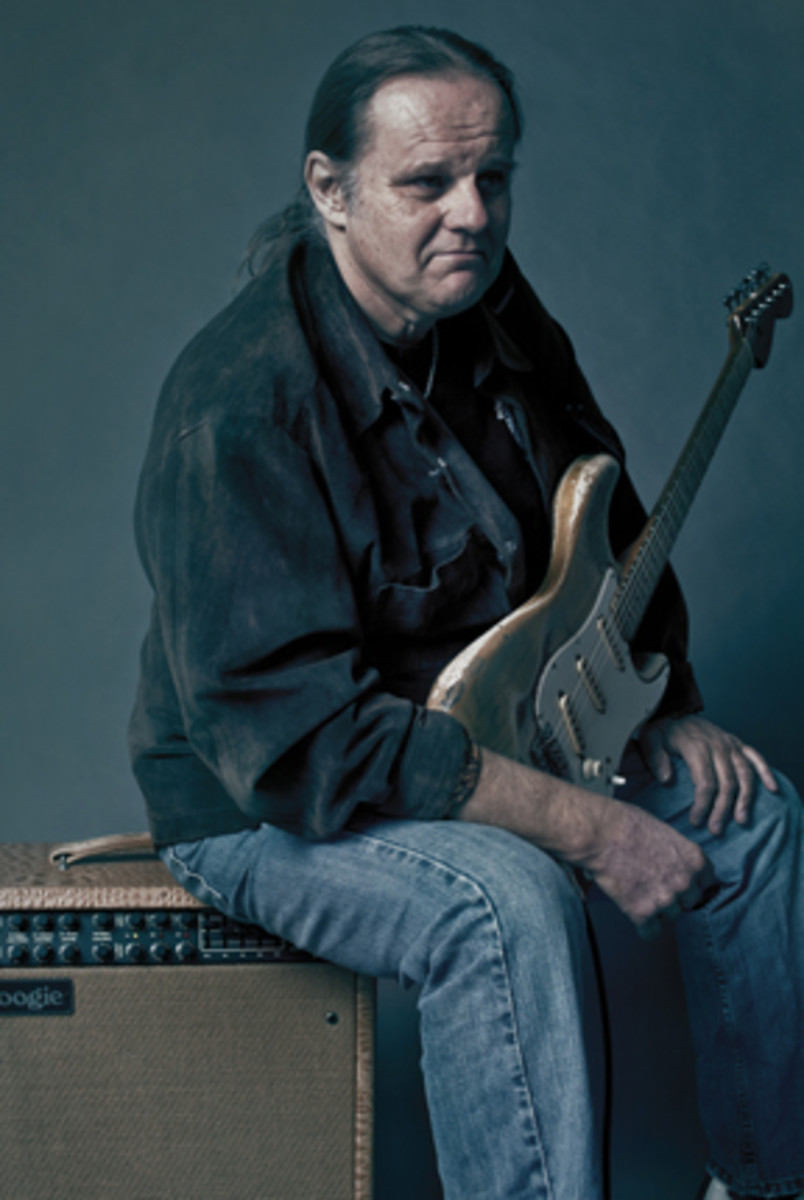 Walter Trout blues guitarist