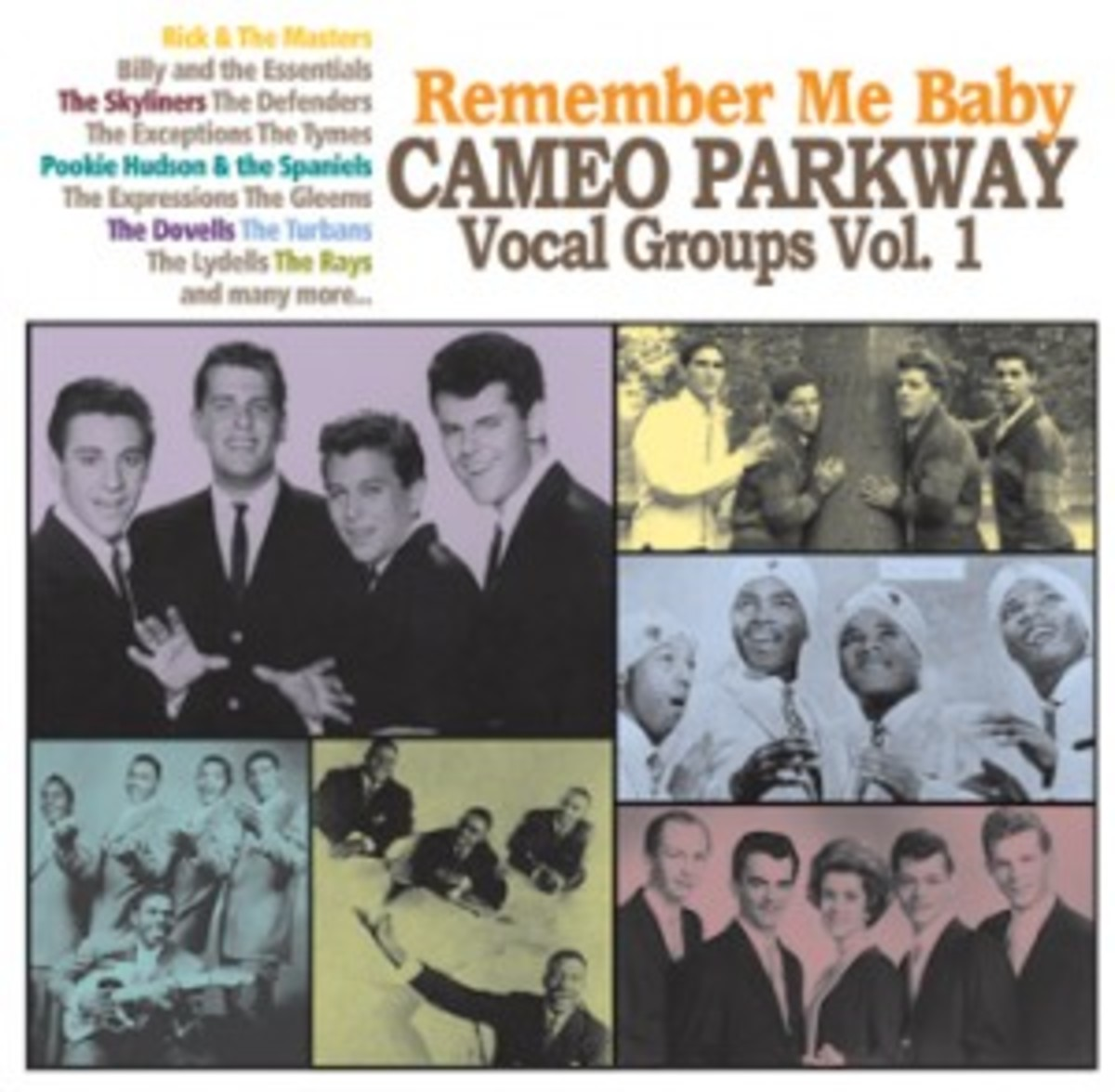 Remember Me Baby Cameo Parkway Vocal Groups Volume 1