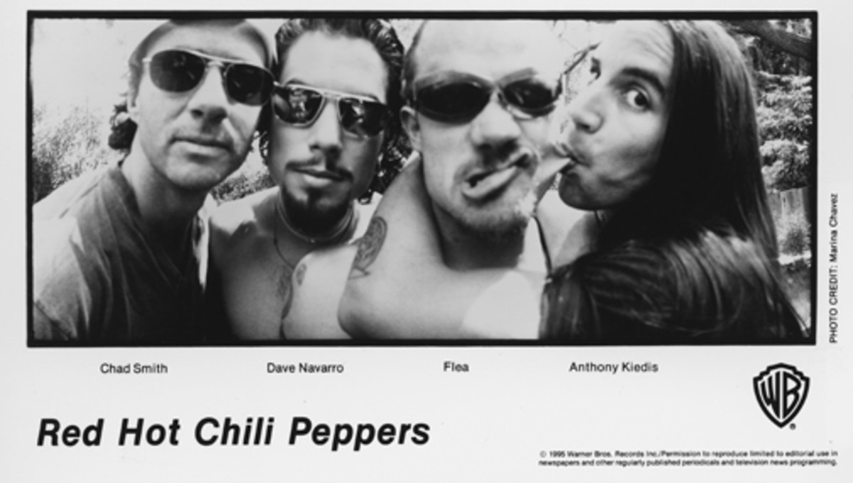 Red Hot Chili Peppers with Dave Navarro