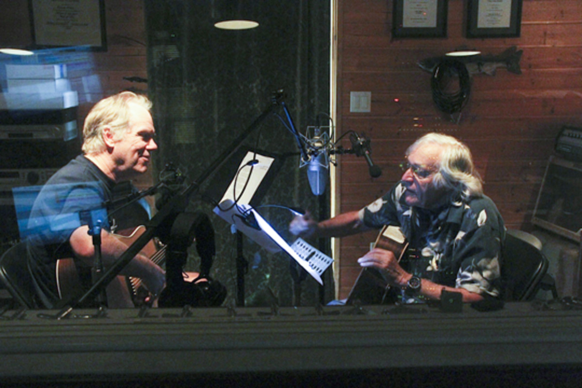 Loudon Wainwright III and Ramblin Jack Elliott