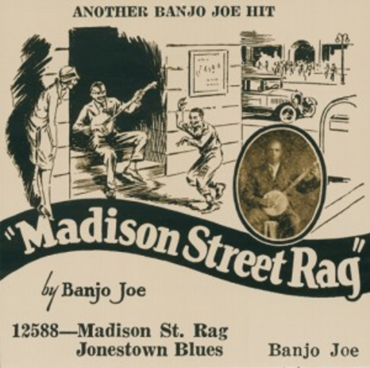 Banjo Joe Madison Street Rag b/w Jonestown Blues