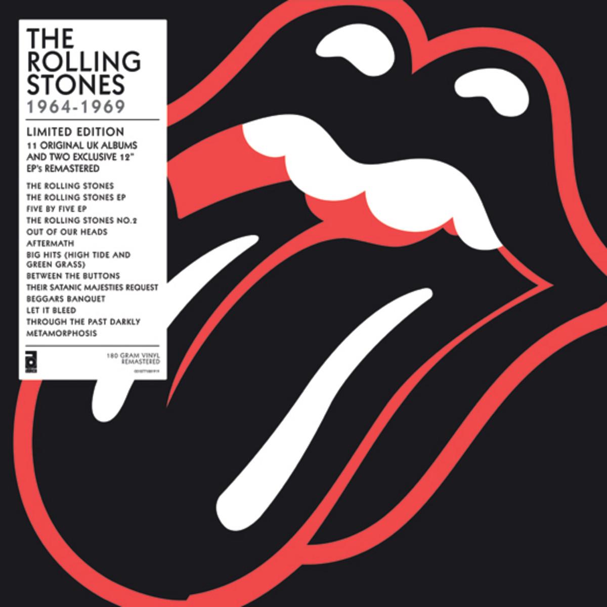 Rolling Stones box set on vinyl