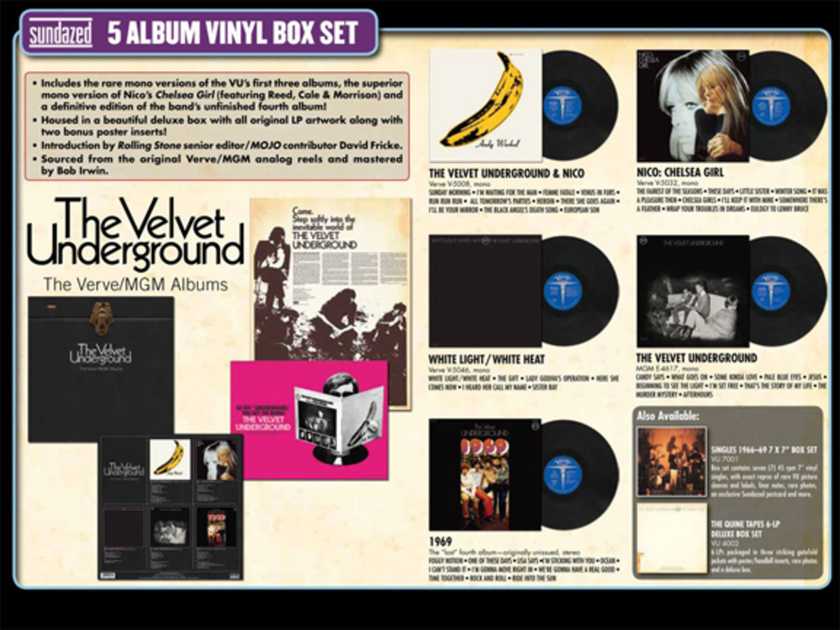 Velvet Underground remastered box set