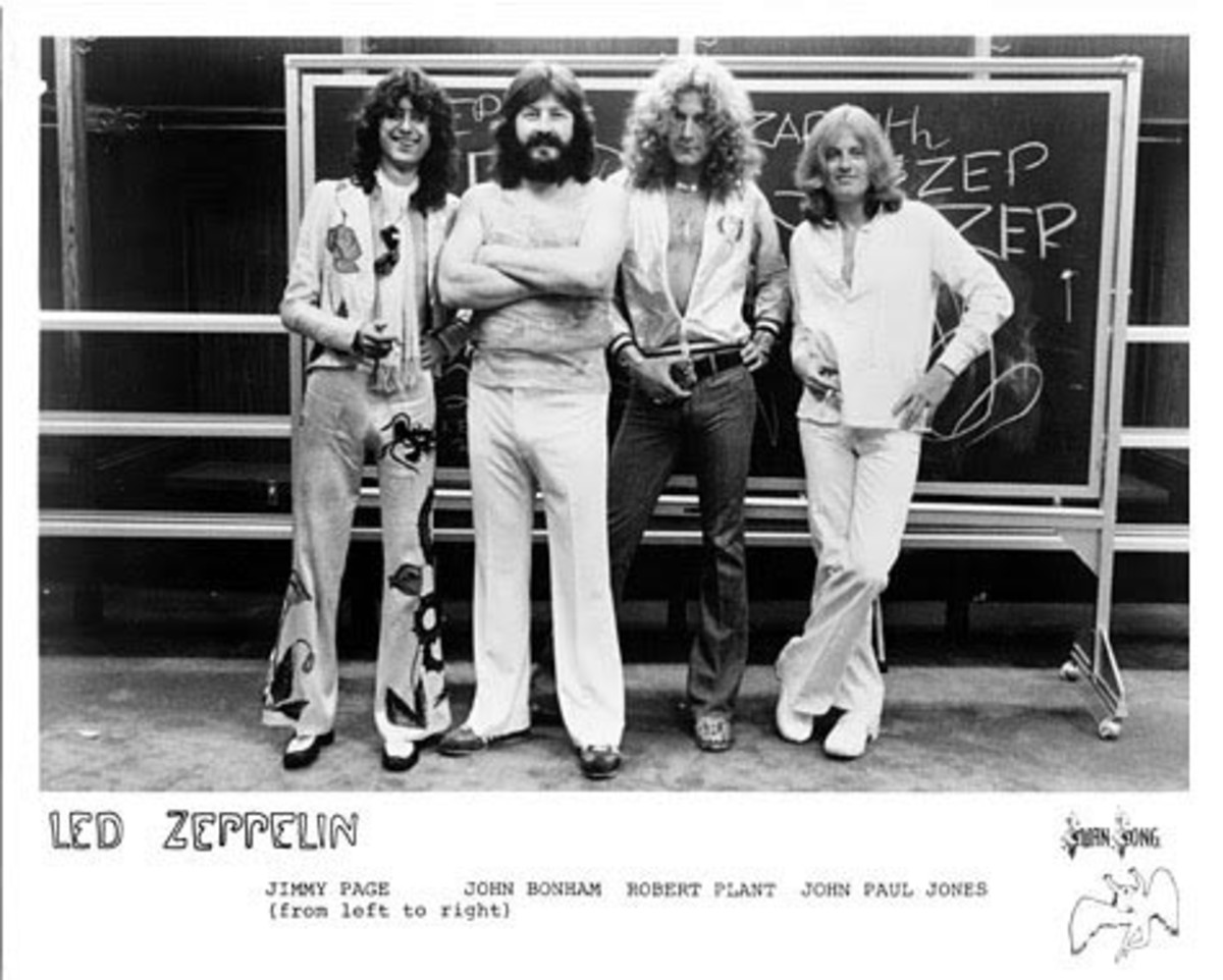 Led Zeppelin Promo Photo Swan Song