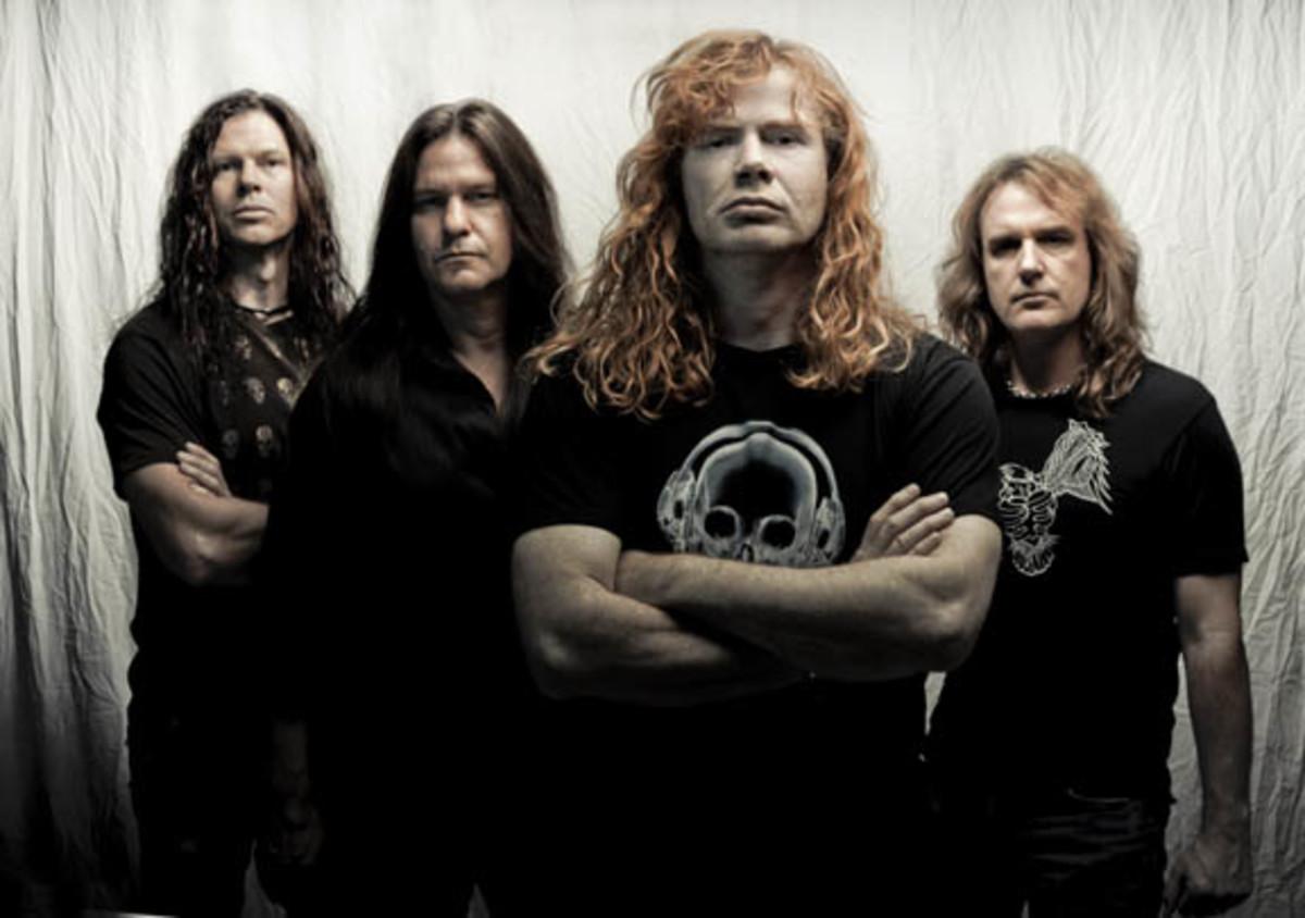 Megadeth 2011 Travis Shinn
