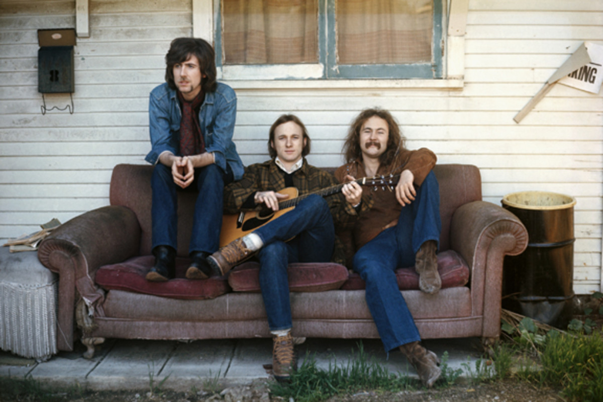 Crosby Stills and Nash photo by Henry Diltz