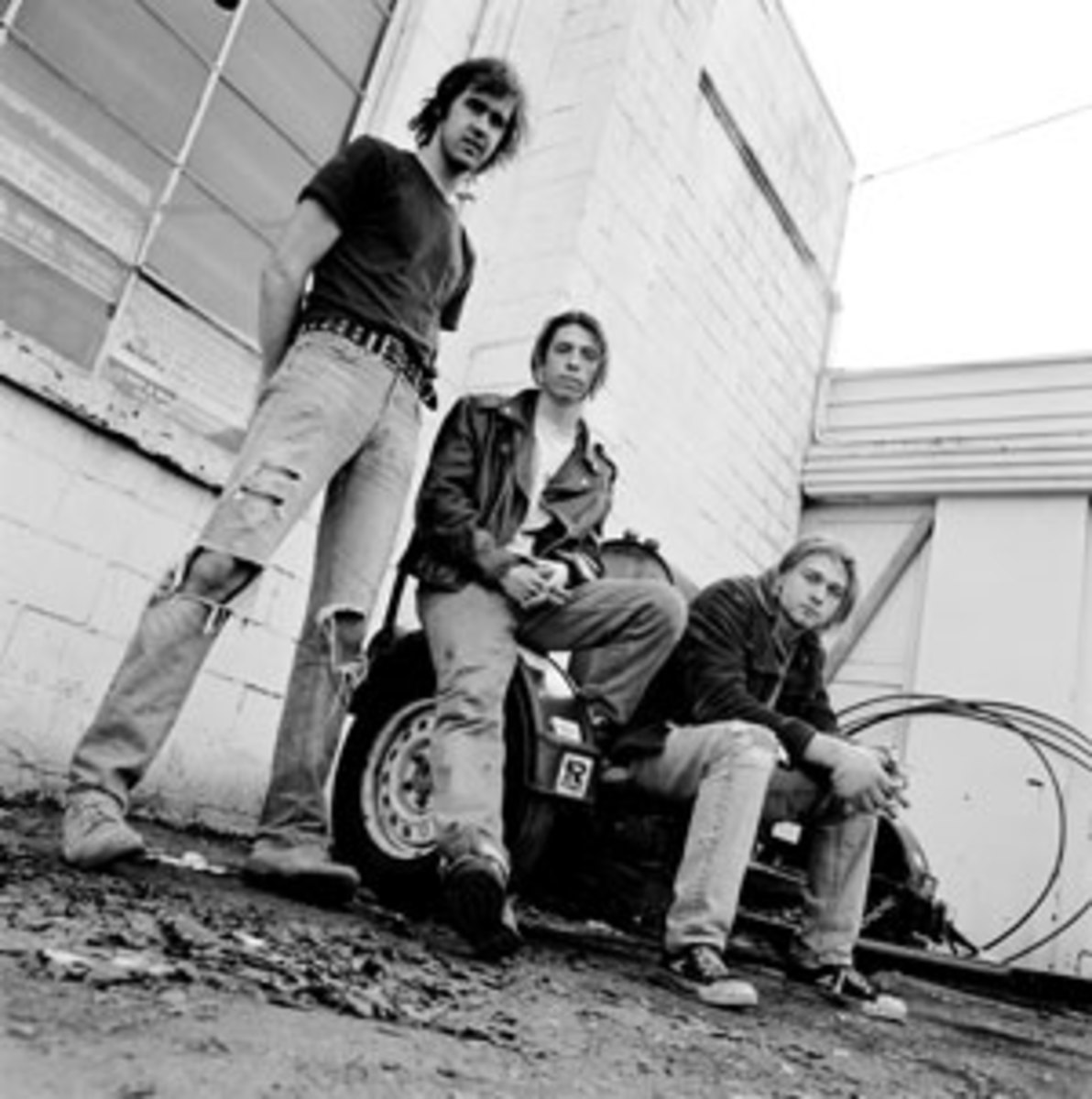 Nirvana's final lineup, in place by the 'Nevermind' album, was its most famous (from left): bassist Krist Novoselic, drummer Dave Grohl and frontman Kurt Cobain. Courtesy of Universal Music Group/Photo by Chris Cuffaro