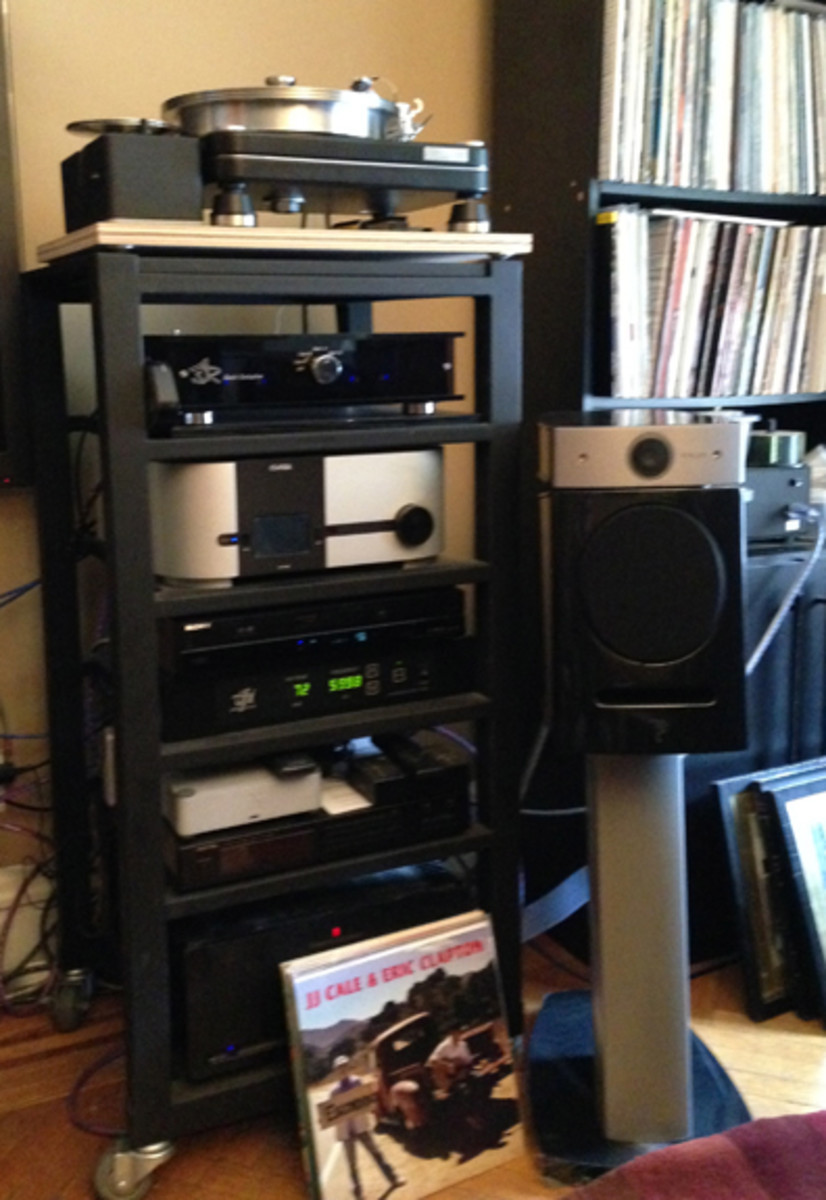 Twisted Sister guitarist Jay Jay French's audio system. Patrick Prince photo.