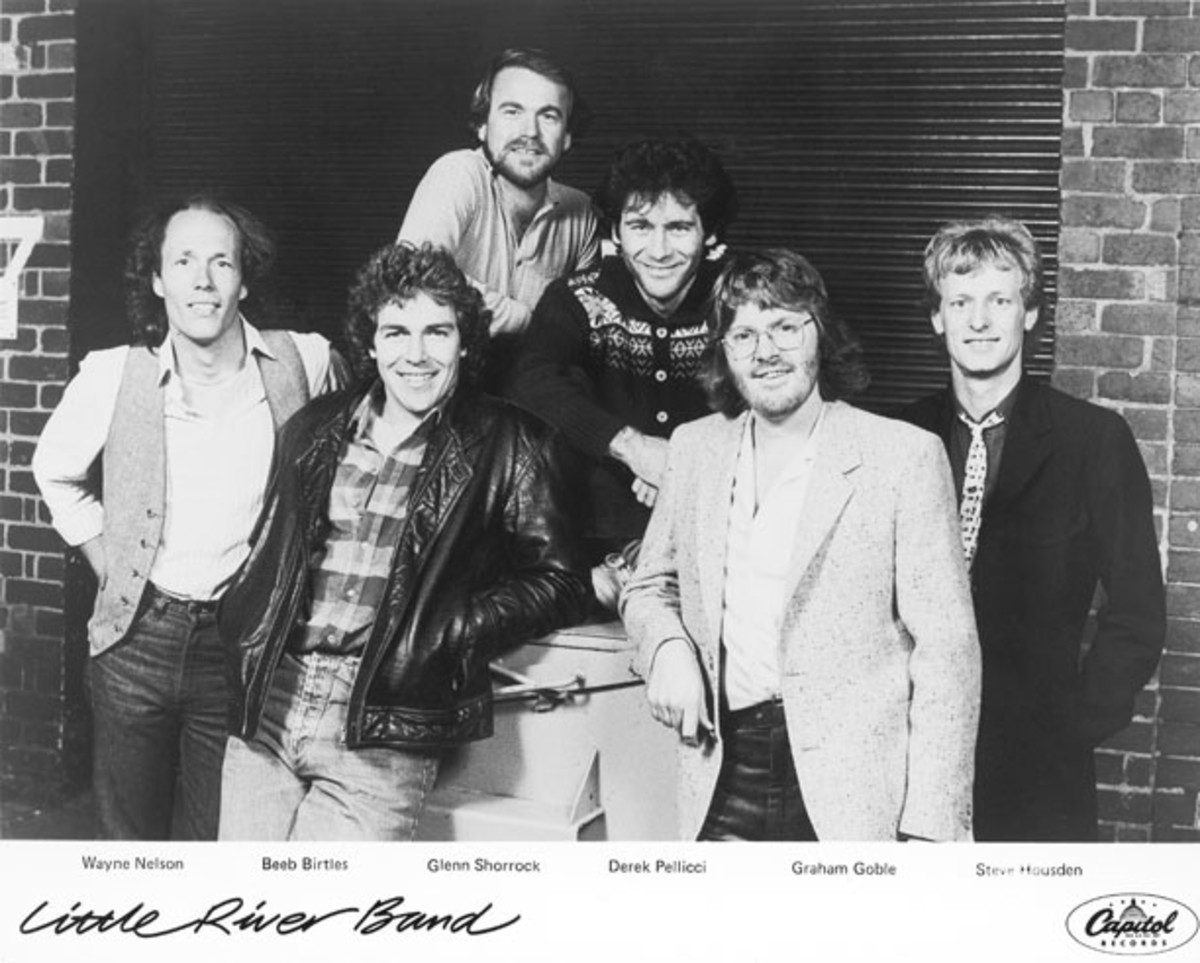 Little River Band publicity photo Capitol Records