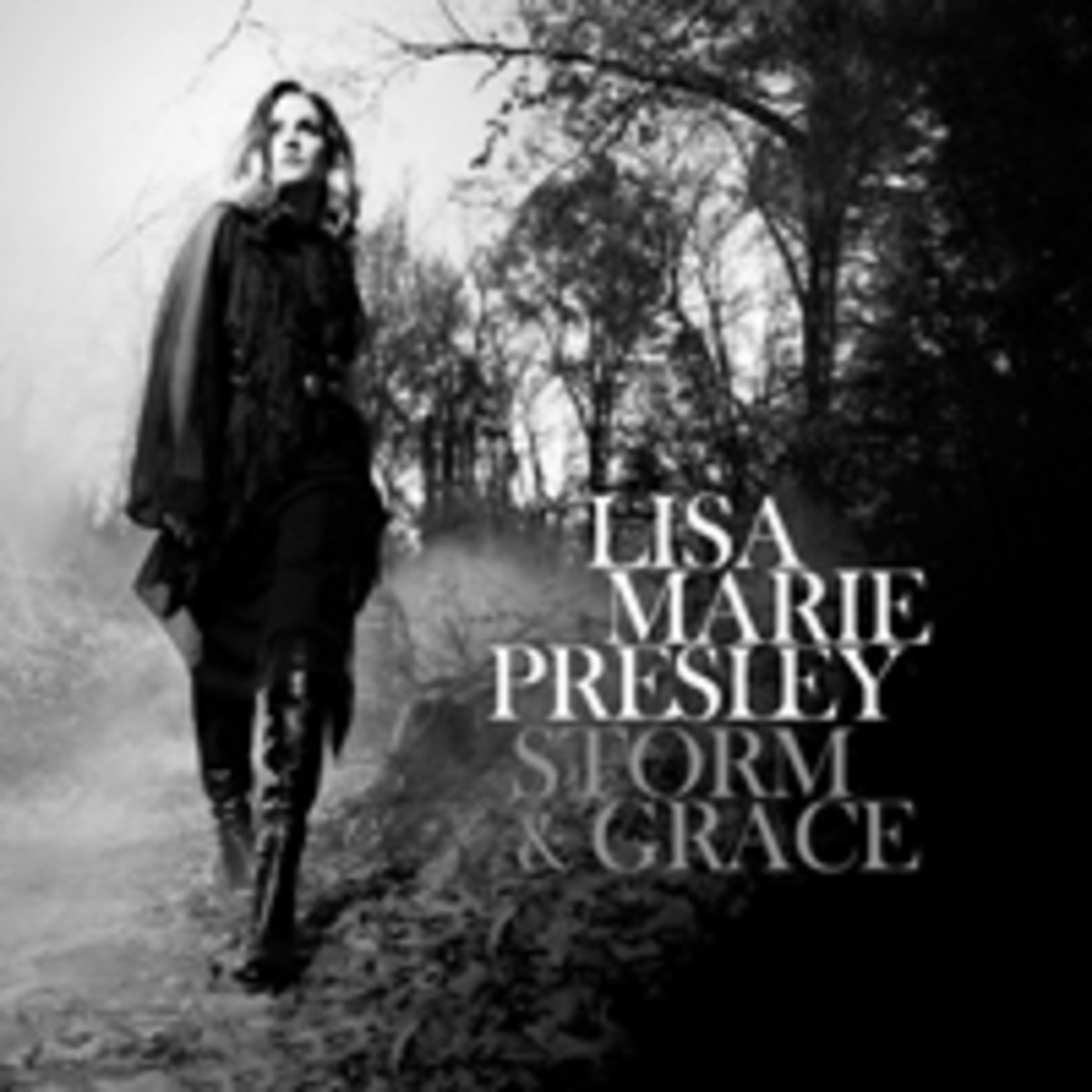 Lisa Marie Presley Storm and Grace