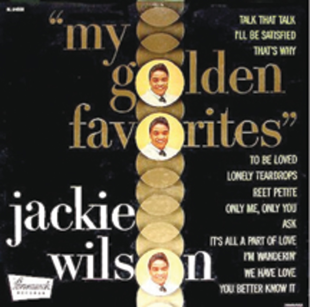 Jackie Wilson My Golden Favorites