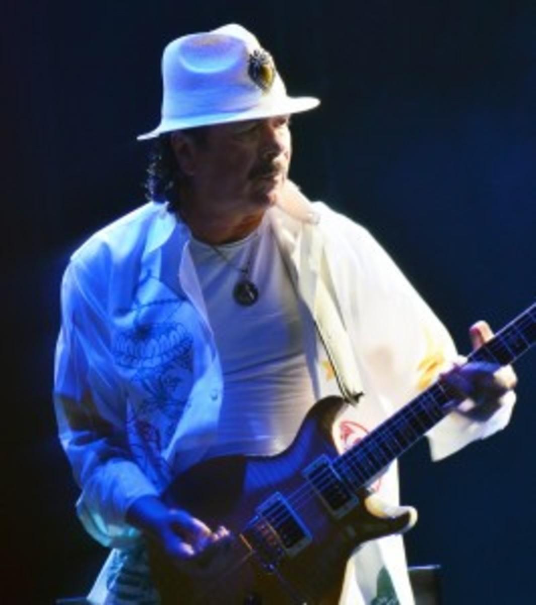 Carlos Santana performs July 20 at The Borgata in Atlantic City, N.J. (Photo by Chris M. Junior)