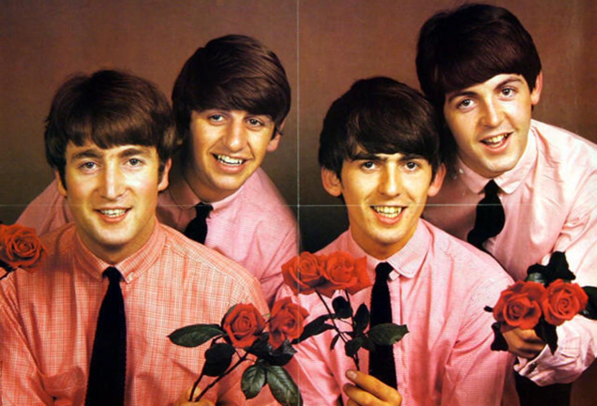 Beatles vintage poster