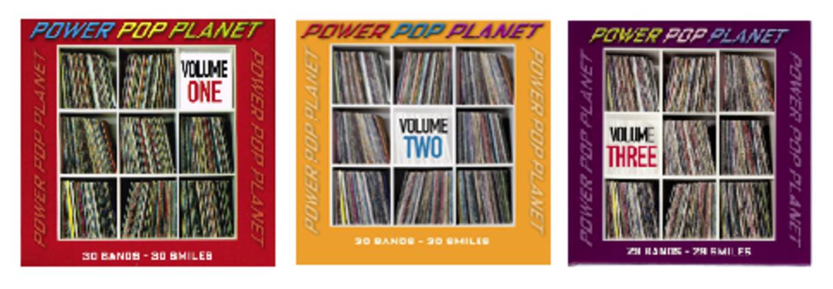Power Pop Planet Volume 1 Volume 2 Volume 3