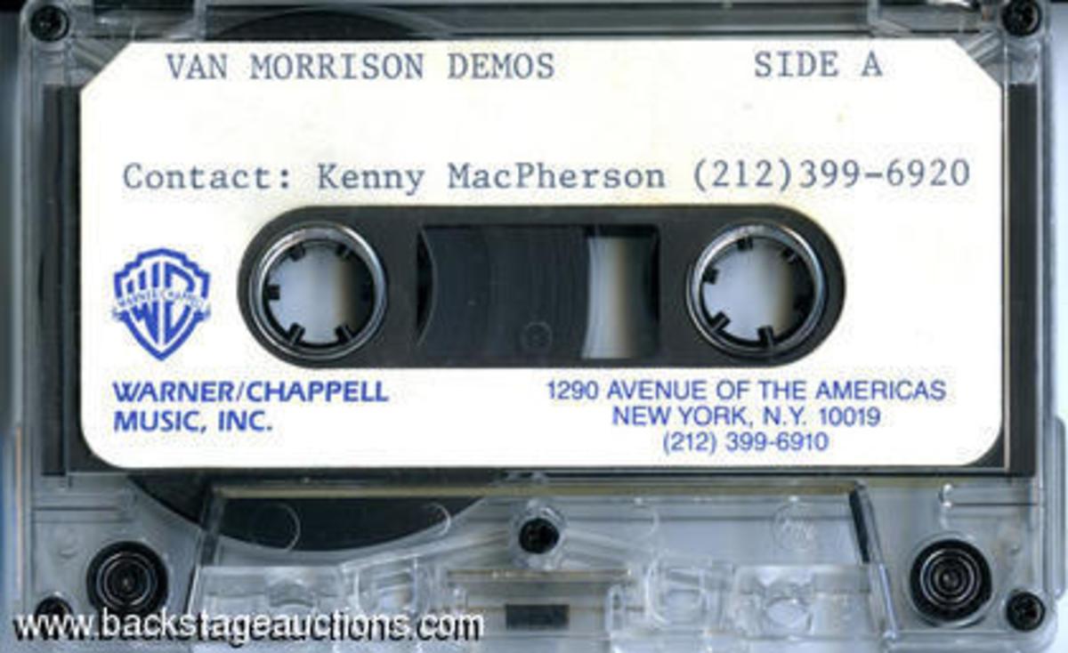Van Morrison demo tape auction