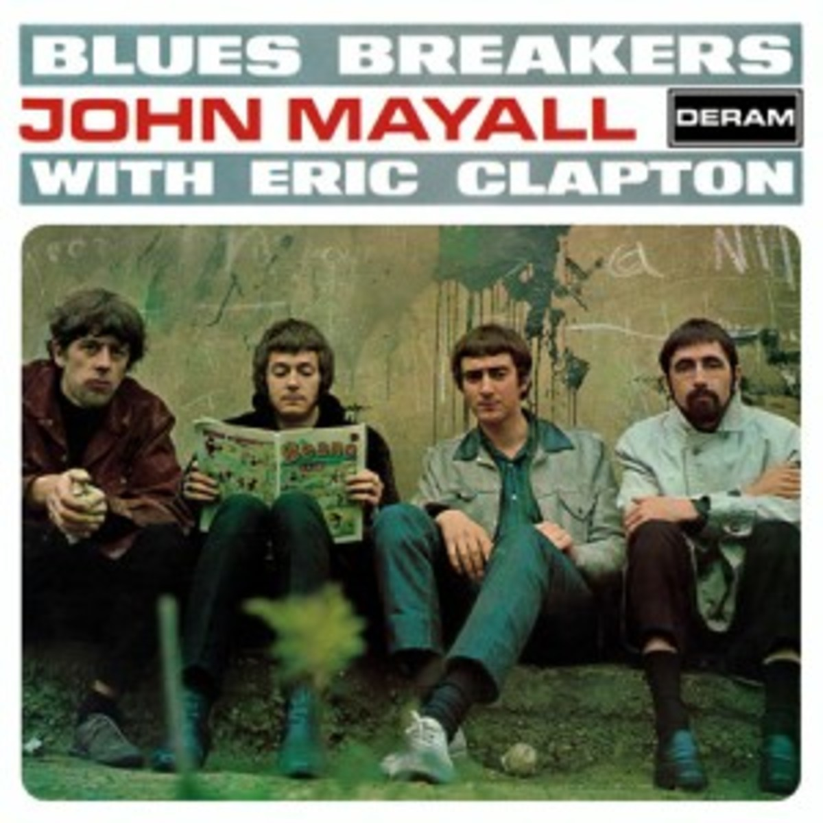 Blues Braeakers John Mayall with Eric Clapton