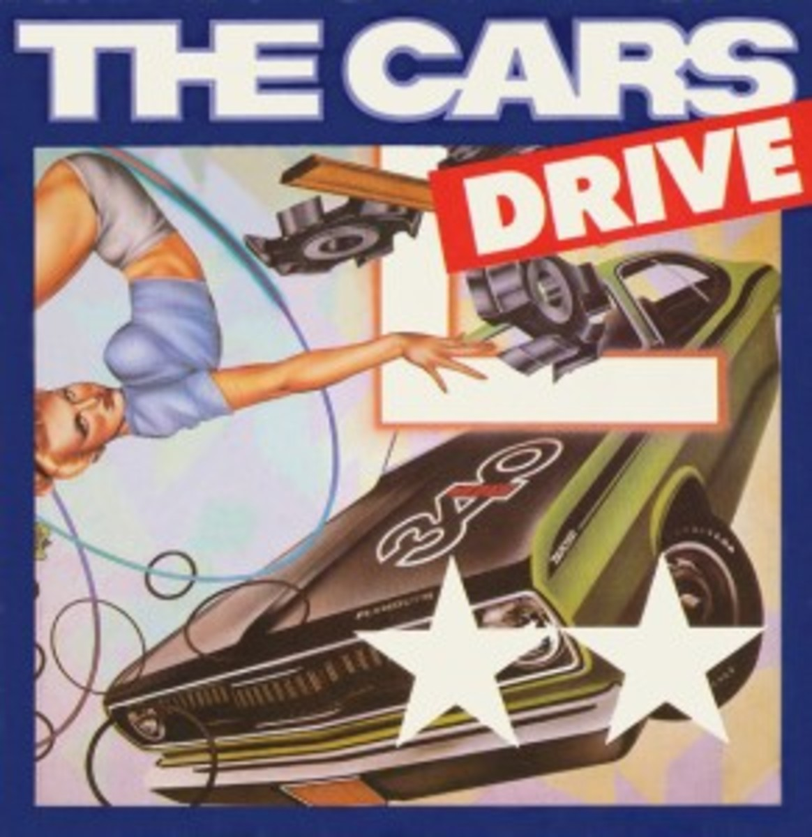 The Cars Drive picture sleeve