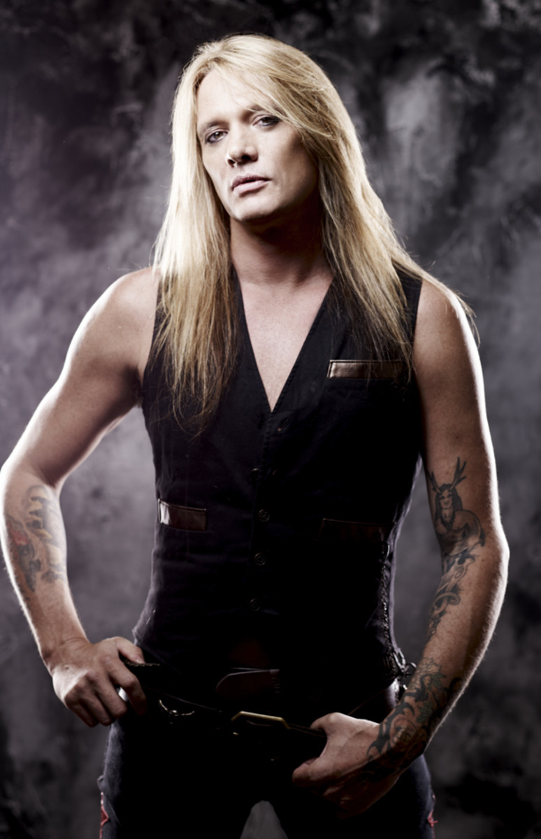 Sebastian Bach photo by Clay Patrick McBride