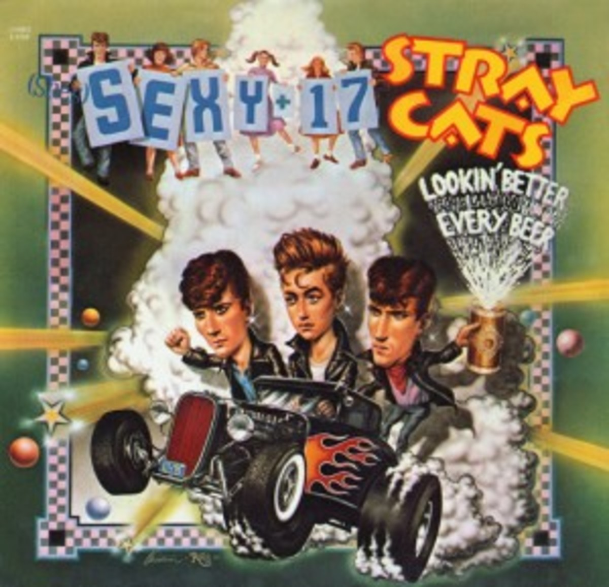 Stray Cats Sexy And 17 picture sleeve