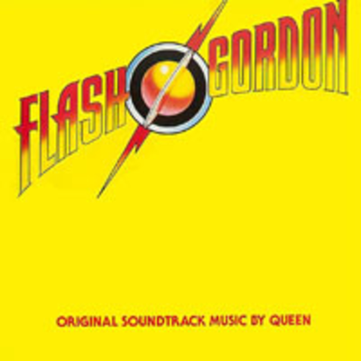 Flash Gordon original soundtrack music by Queen