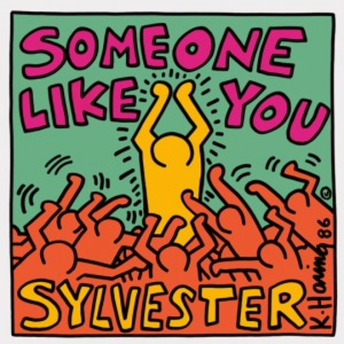 Sylvester Someone Like You Keith Haring picture sleeve
