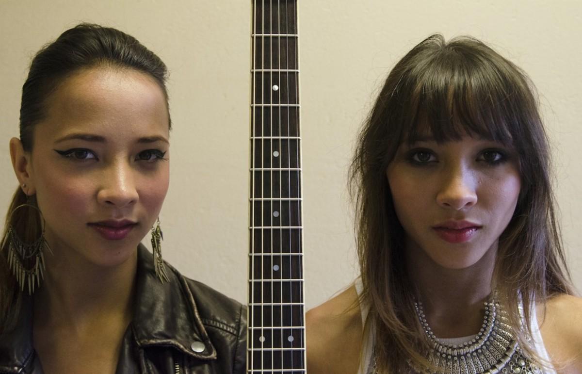 Nalani (right) and Sarina Bolton (Photo by Chris M. Junior)