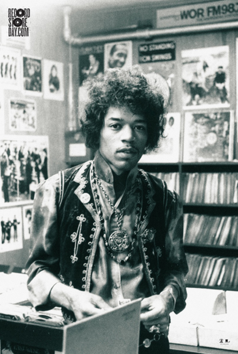 Jimi Hendrix Record Store Day poster