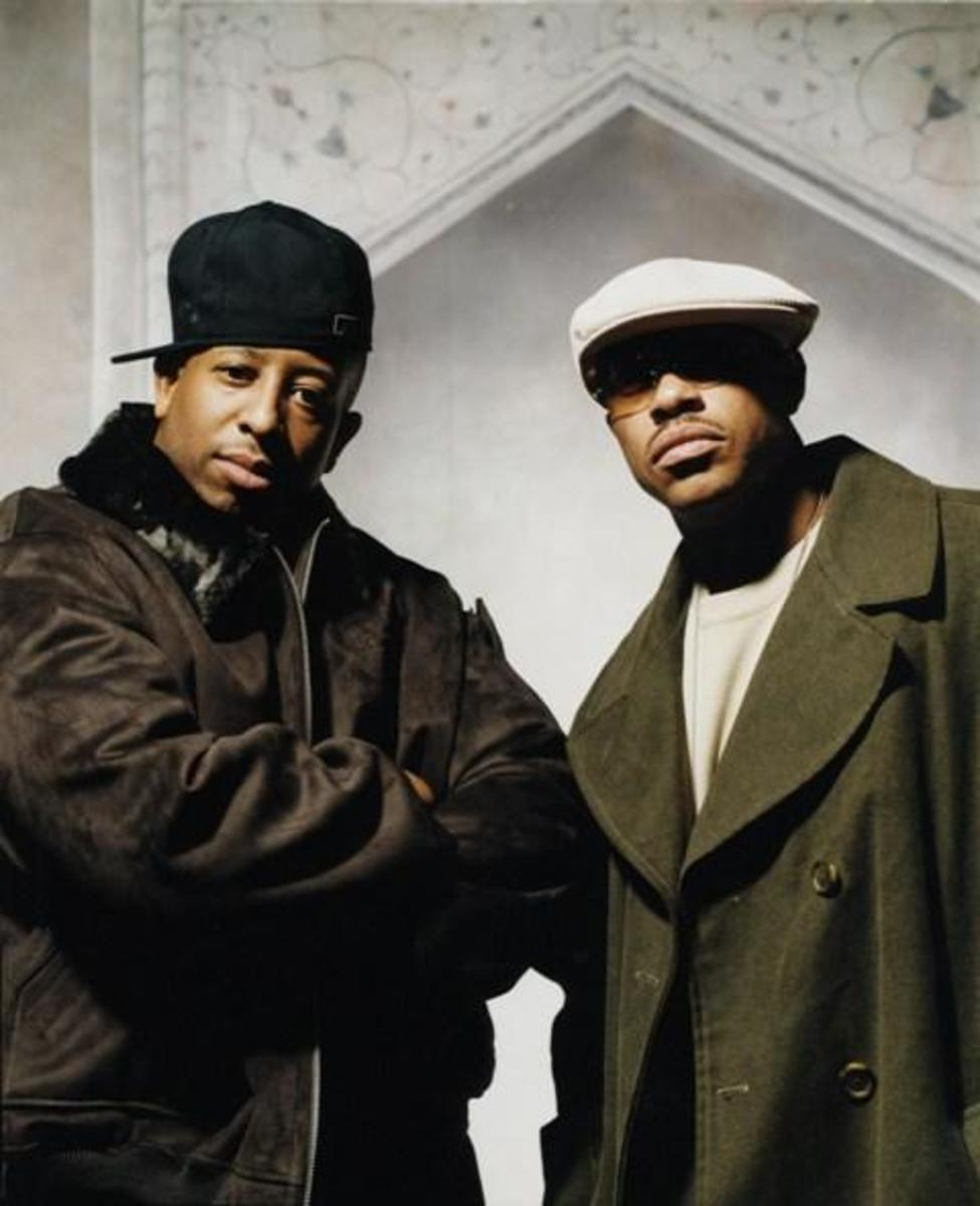 Guru (right) DJ Premier (left)